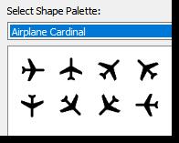 Cardinal planes