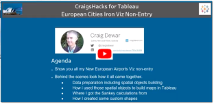 CraigsHacks for Tableau Iron Viz Europe NonEntry Link